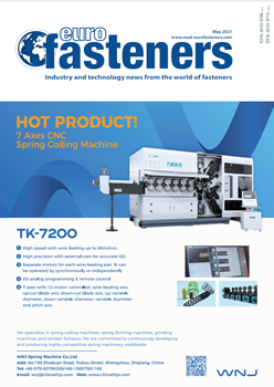 Euro Fasteners May 2021 cover